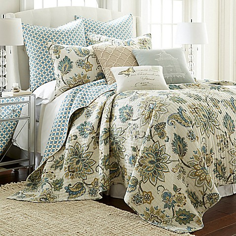 Levtex Home Victoria Reversible Quilt Set Bed Bath Amp Beyond