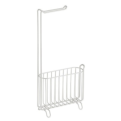 Interdesign Classico Toilet Paper Holder And Magazine Rack