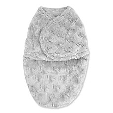 image of Blankets & Beyond Bloom Swaddle Blanket in Oyster