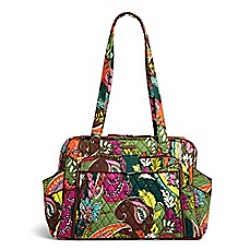 image of Vera Bradley® Stroll Around Diaper Bag in Autumn Leaves