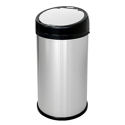 Buy Halo Stainless Steel Extra Wide Sensor 13 Gallon Trash Can In
