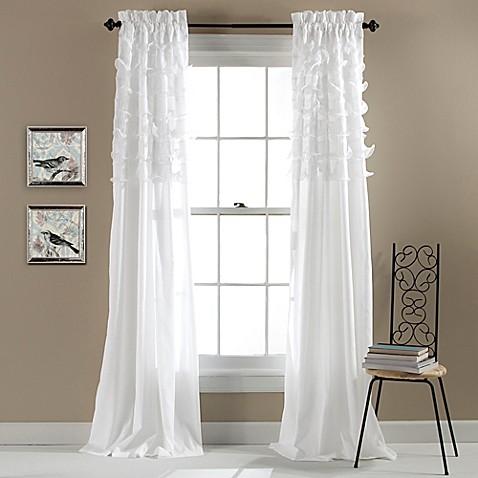 Lush D 233 Cor Avery 84 Inch Rod Pocket Window Curtain Panel