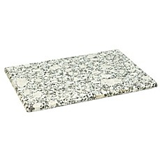 image of hds trading granite cutting board in white