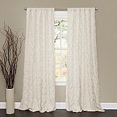 Lush Decor Lake Como 84 Inch Rod Pocket Window Curtain Panel