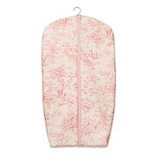 image of Glenna Jean Cottage Rose Diaper Stacker in Pink
