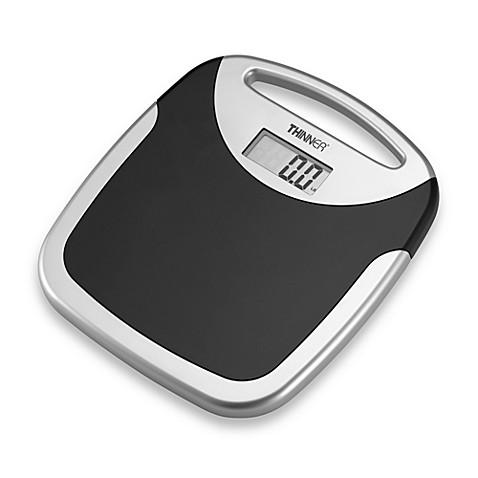 Bathroom Scale Bed Bath And Beyond. Conair Thinner Portable Digital Bathroom Scale