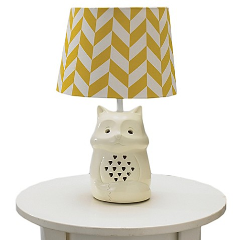 Living Textiles Fox Lamp Base Buybuy Baby