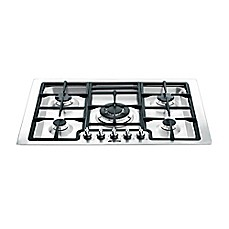 image of SMEG 30-Inch Classic Gas Cooktop in Stainless Steel