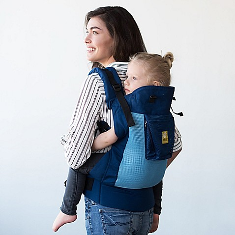 Lllbaby Carryon Airflow Toddler Carrier In Blue Aqua