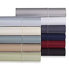 image of Wamsutta® Stripe 500-Thread-Count PimaCott® Sheet Set