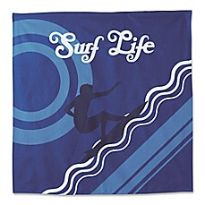 image of Hang Ten Pismo Beach Surf Life Tapestry in Blue