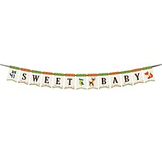 image of Lillian Rose™ Woodland Baby Shower Bunting Banner
