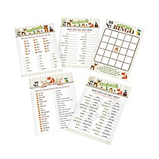 image of Lillian Rose™ Woodland Baby Shower Game Cards (Set of 25)