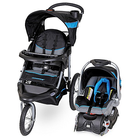 Baby Trend 174 Expedition 174 Travel System In Millennium Blue