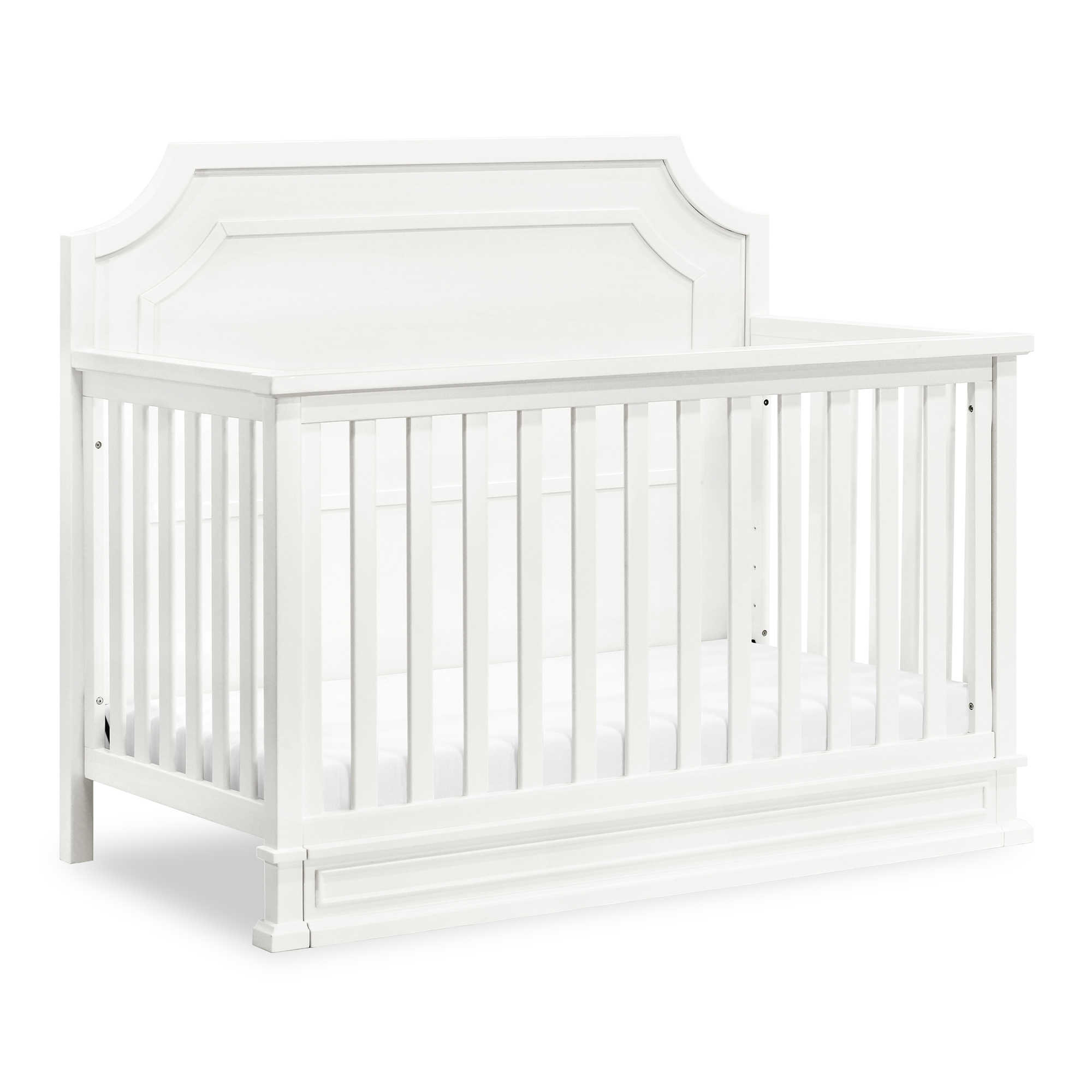 Encore by Million Dollar Baby Classic Emma Regency 4-in-1 Convertible Crib in Warm White
