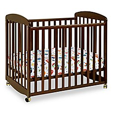 image of DaVinci Alpha Mini Rocking Crib in Espresso