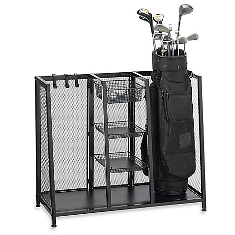 Metal Two Bag Golf Organizer Bed Bath Amp Beyond