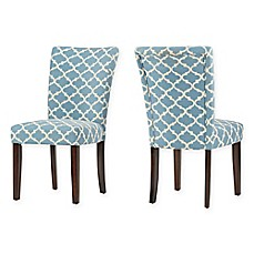 image of Verona Home Tosca Printed Dining Side Chair (Set of 2)