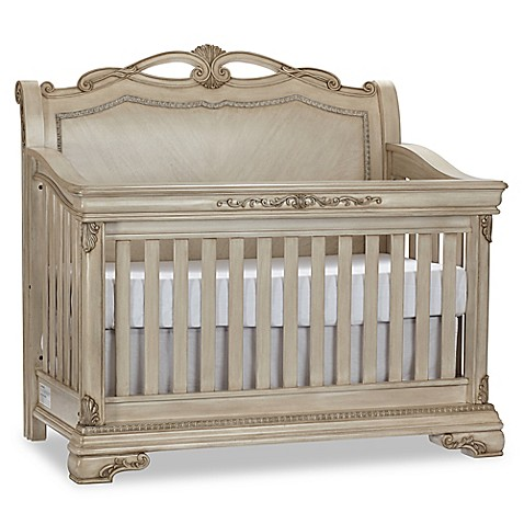 Kingsley Wessex 4 In 1 Convertible Crib In Seashell Bed