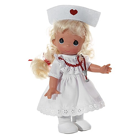precious moments the doll maker 9 inch loving touch nurse doll in