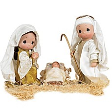 image of Precious Moments® First Christmas Doll Set