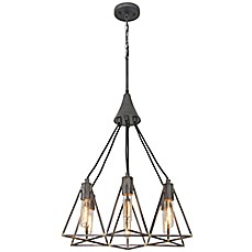 metallic pendant lighting design discoveries. Image Of Varaluz® Trini Pendant Light In Gunsmoke Metallic Lighting Design Discoveries