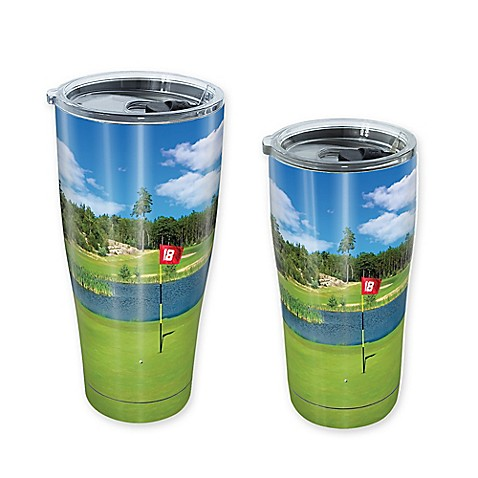 Tervis 174 Golf Course Scene Stainless Steel Tumbler With Lid