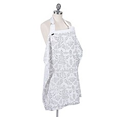 image of Bebe au Lait® Muslin Nursing Cover in Atherton