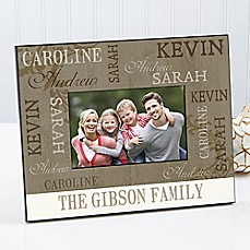 image of Our Loving Family Picture Frame