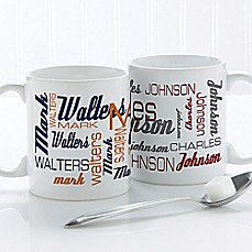 image of Signature Style for Him 11 oz. Coffee Mug in White