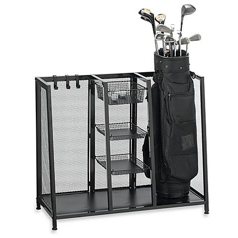 Metal Two Bag Golf Organizer Bed Bath Amp Beyond