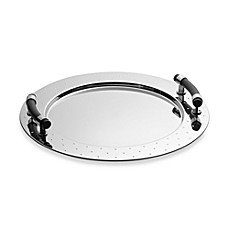 image of Alessi Michael Graves Round Tray with Handles
