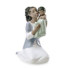 image of Nao® Treasured Memories in Loving Arms African American Porcelain Figure