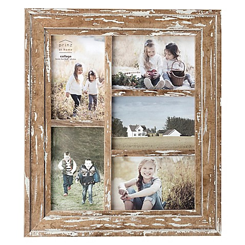 Prinz 5 Photo Old Mill Collage Wood Frame In Distressed