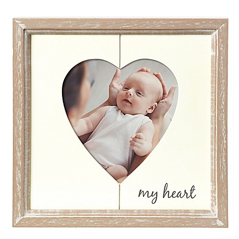 Grasslands Road 4 Inch X 4 Inch My Heart Picture Frame Buybuy Baby