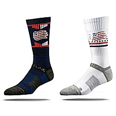 image of MLS New England Revolution Strideline Crew Socks