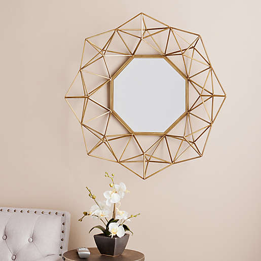 Southern Enterprises 30 Inch X 29, Decorative Wall Mirrors Bed Bath And Beyond
