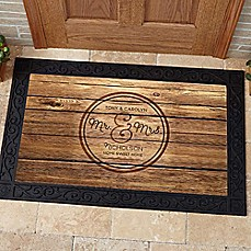 image of Circle of Love Door Mat