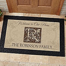 image of Floral Door Mat