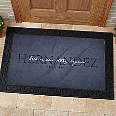 image of Heart of Our Home Door Mat