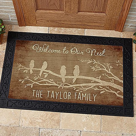 Welcome To Our Nest Door Mat Bed Bath Amp Beyond