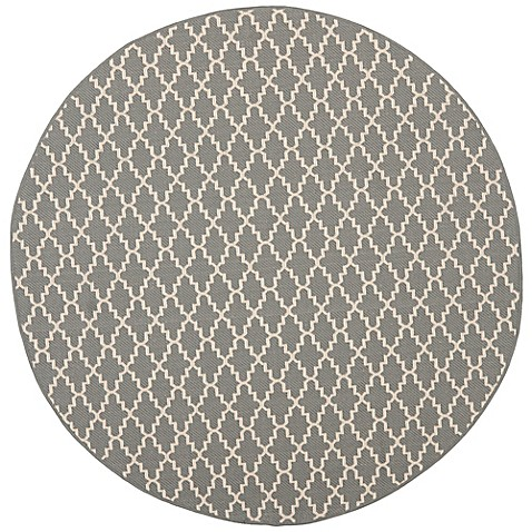 Buy Safavieh Courtyard 7 Foot 10 Inch Round Indoor Outdoor