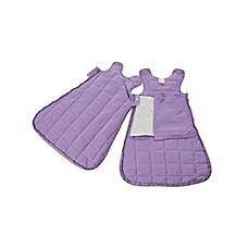 image of Gunamuna Gunapod® Newborn Luxury Duvet Swaddle Sack with WonderZip® in Purple Chic