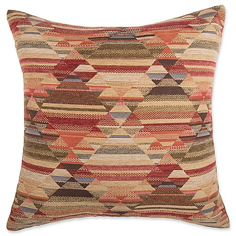 Make Your Own Decorative Pillow Covers : Make-Your-Own-Pillow Chirico Square Throw Pillow Cover in Red - Bed Bath & Beyond