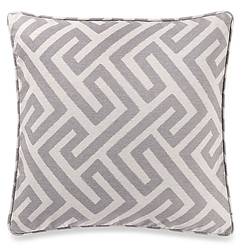 make-your-own-pillow keyes square throw pillow cover - bed bath & beyond Make Your Own Throw Pillow Covers