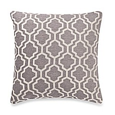 Make Your Own Pillow Lyssa Square Throw Pillow Cover In Grey