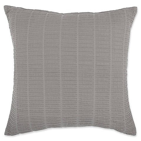 Throw Pillow Covers Bed Bath Beyond : Buy Make-Your-Own-Pillow Zaylie Square Throw Pillow Cover in Grey from Bed Bath & Beyond