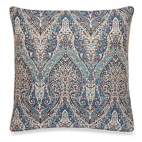 Make Your Own Decorative Pillow Covers : Make-Your-Own-Pillow Giltner Square Throw Pillow Cover in Teal - Bed Bath & Beyond