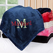 image of All About Me Fleece Throw Blanket