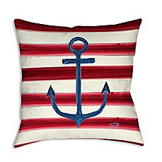 image of Sailor's Life I Square Indoor/Outdoor Throw Pillow